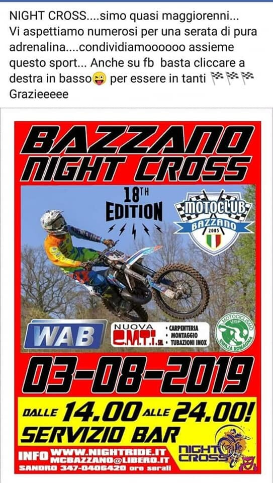 Bazzano Night Cross
