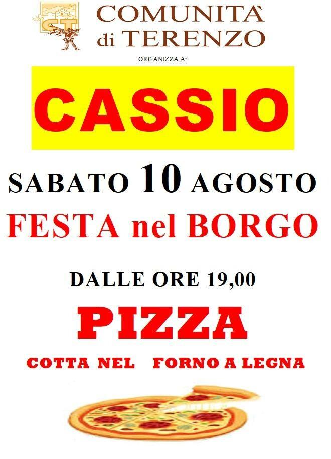 Tradizionale Pizzata nel Borgo a Cassio