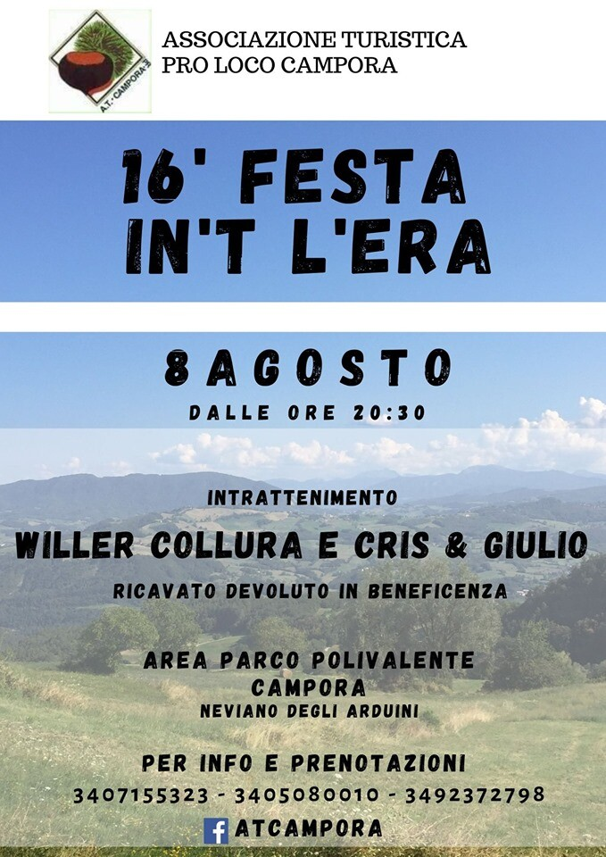 Festa in't l'era a Campora