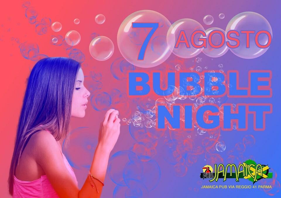Bubble night al Jamaica Pub