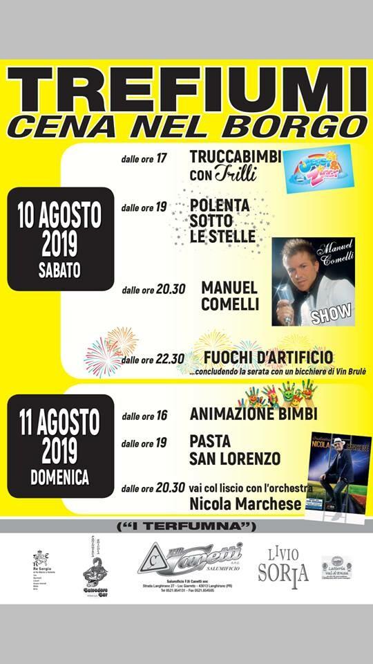 """""""Cena nel Borgo"""" a Trefiumi"""