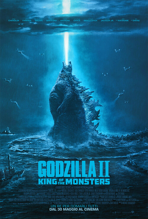 GODZILLA II-King of the monsters al cinema Odeon di Salsomaggiore