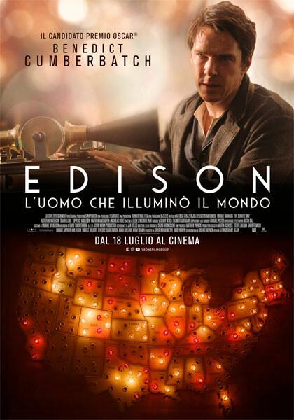 EDISON  di Alfonso Gomez-Rejon all'arena estiva del  Cinema Astra