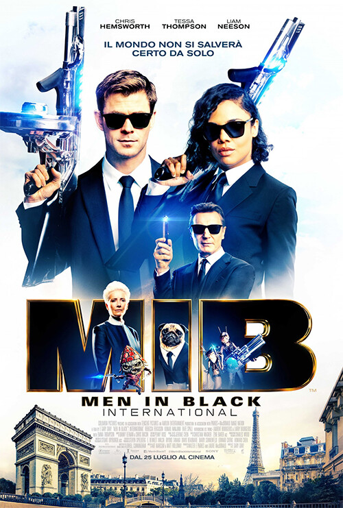 MIB-Men in black international  al cinema Cristallo di Borgotaro