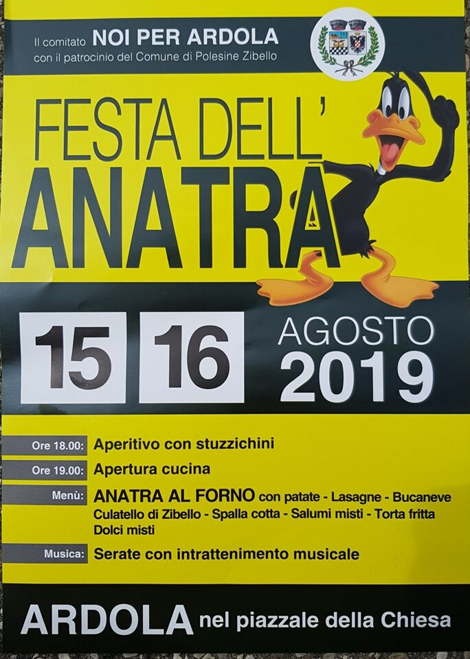 Festa dell'anatra ad Ardola