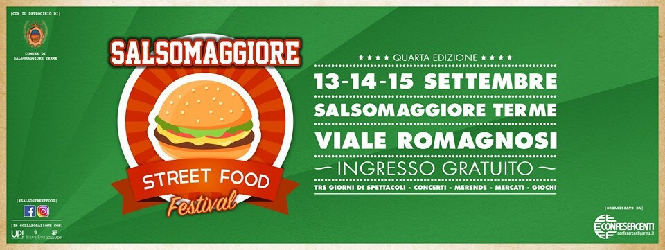 Salsomaggiore Street Food Festival 2019