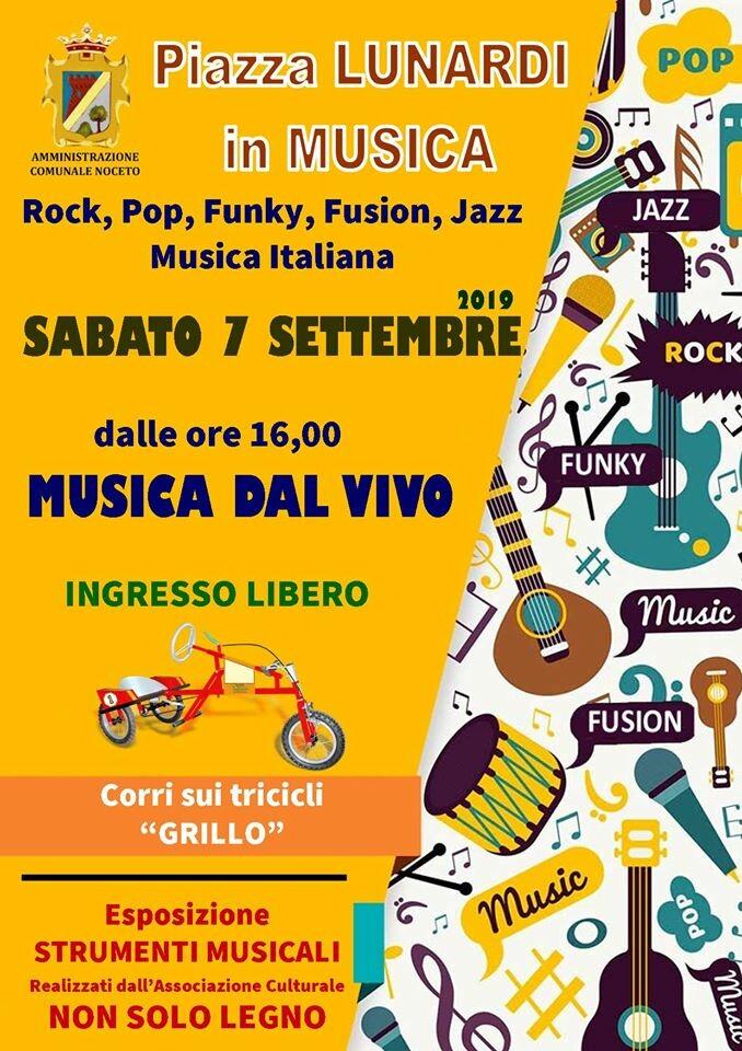 Piazza Lunardi in musica a Noceto