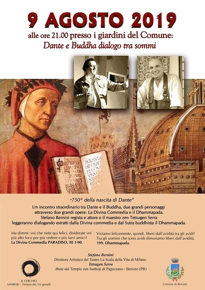 Dante e Buddha, dialogo tra sommi a Berceto