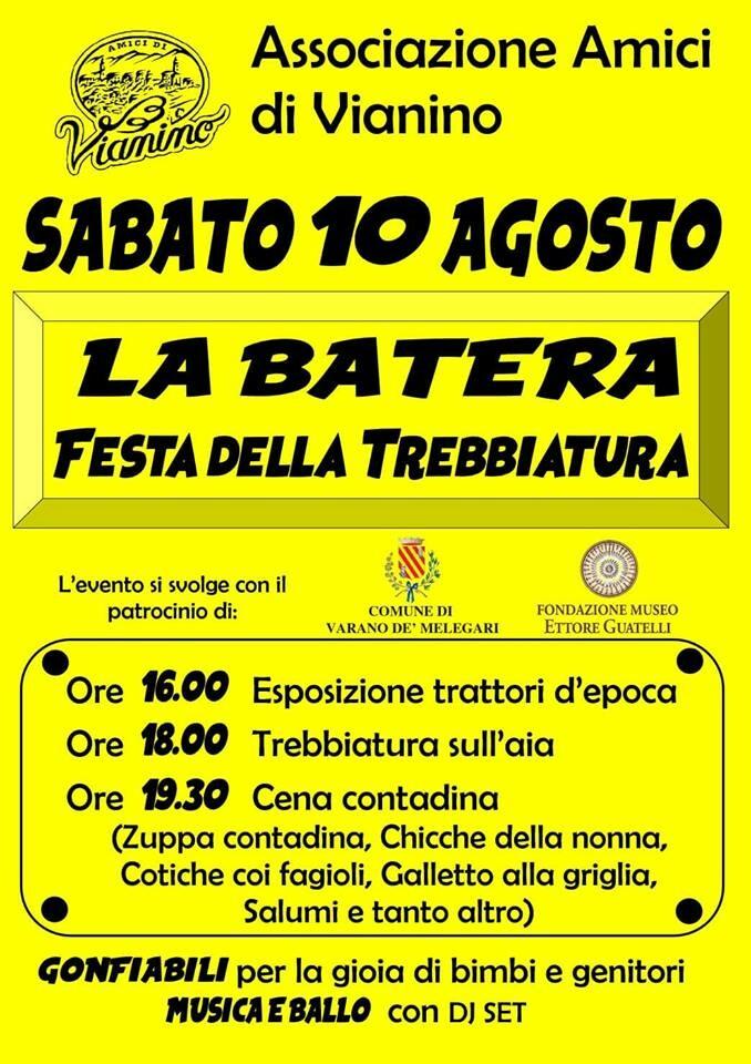 """Festa ed """"La Batera"""" - Festa della Trebbiatura a Vianino"""