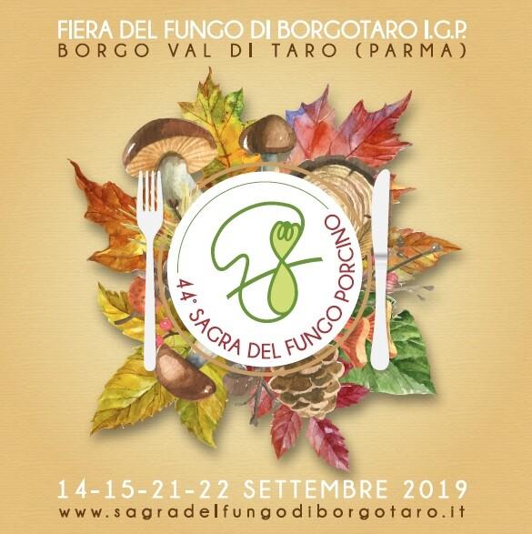 44°edizione della fiera del fungo di borgotaro igp, il festival del buon cibo Mostre, degustazioni, cooking show.