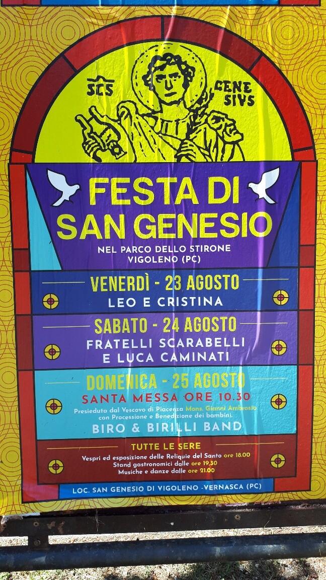 Festa di San Genesio
