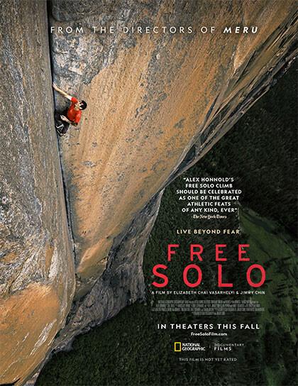 Free Solo all'arena estiva del  Cinema Astra