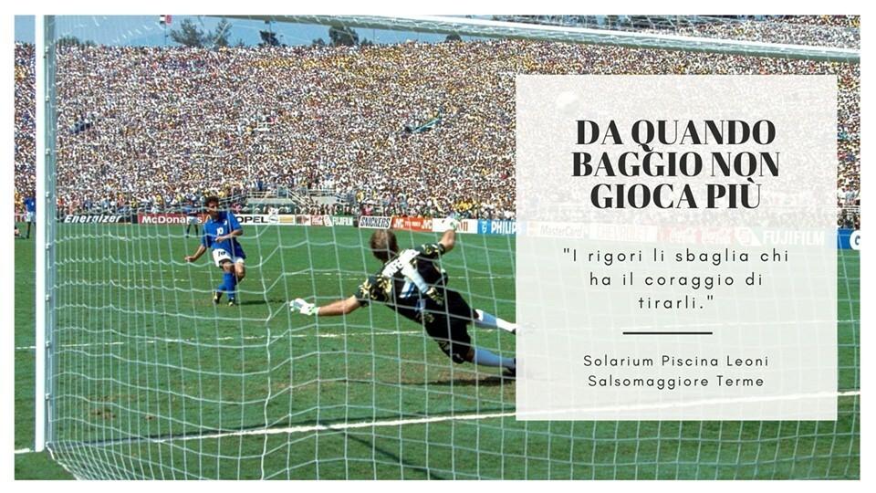 Da quando Baggio non gioca più