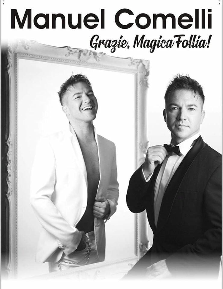 Grazie, Magica Follia! - lo show di ferragosto di Manuel Comelli