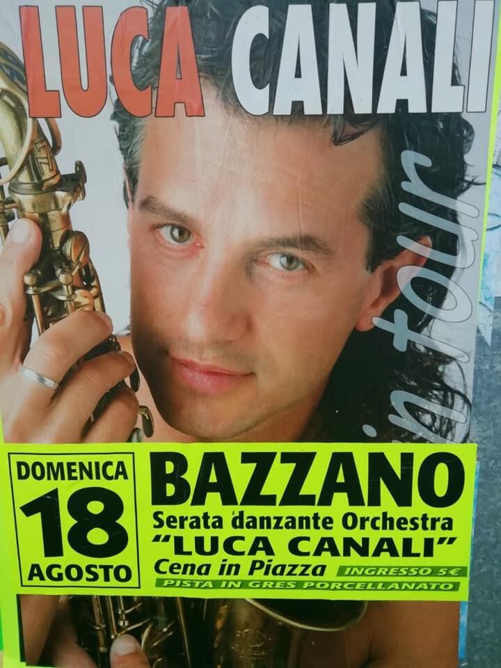 Serata danzante con Luca Canali