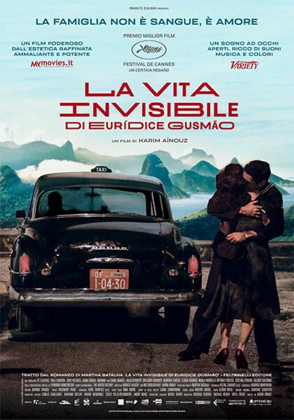 """""""Anteprima Stagione 2019-2020""""  LA VITA INVISIBILE DI EURIDICE GUSMAO all'arena estiva del  Cinema Astra"""