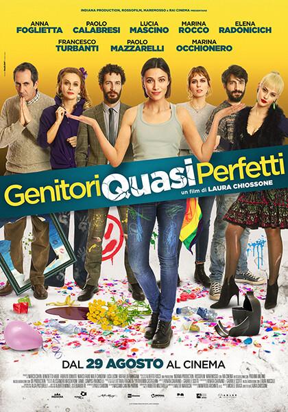 """""""Anteprima Stagione 2019-2020""""  GENITORI QUASI PERFETTI  di Laura Chiossone al cinema Astra arena estiva"""