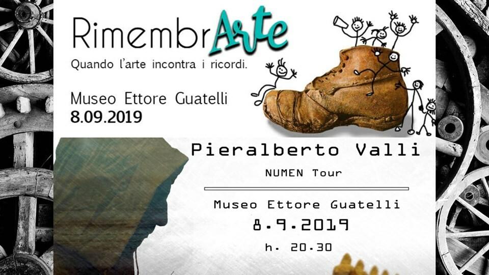 RimembrArte e concerto Pieralberto Valli al Museo Guatelli