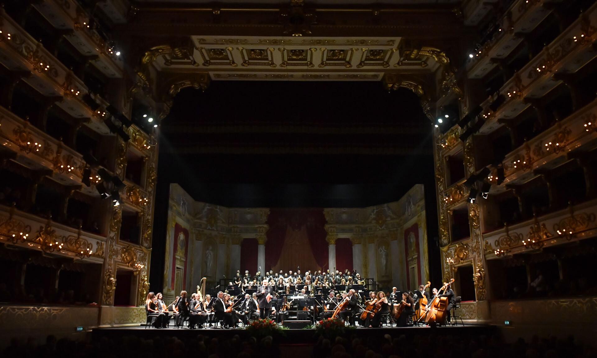 Festival Verdi 2019: Fuoco di Gioia  Gala lirico benefico con coro e orchestra e con l'amichevole partecipazione di celebri interpreti verdiani.