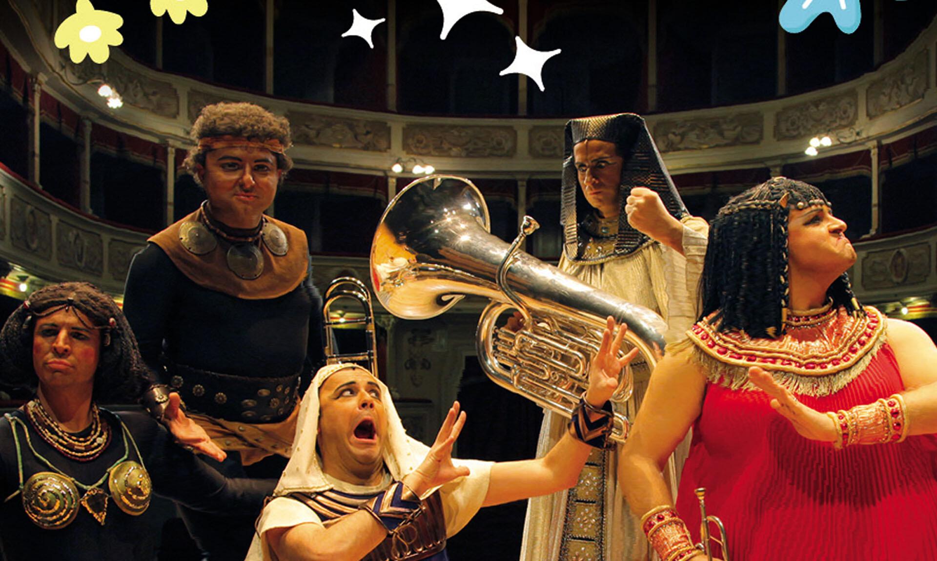 Festival Verdi 2019: Aida in 55 minuti  Spettacolo musicale tratto da Aida di Giuseppe Verdi