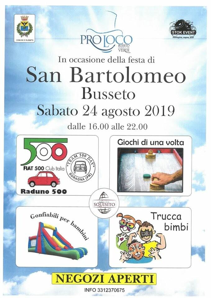 Sagra di San Bartolomeo a Busseto