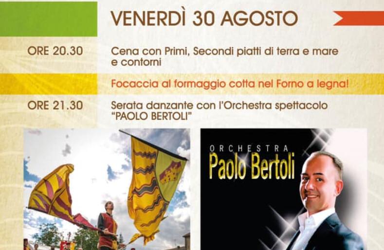 Fiera millenaria di San Terenziano: programma del 30 agosto
