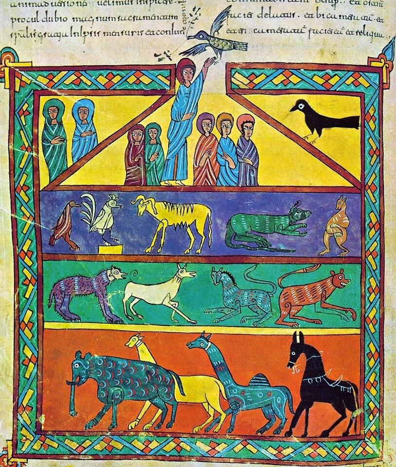 Gli animali nel medioevo: vita quotidiana e linguaggio simbolico