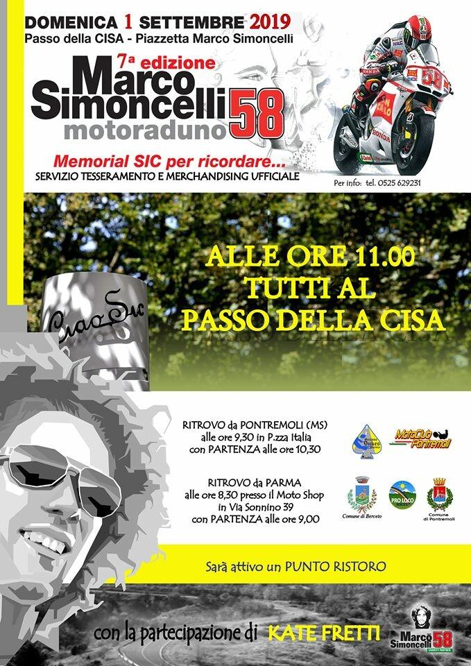 7°  edizione del motoraduno Marco Simoncelli