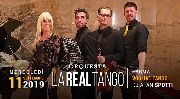 Milonga Voglia di Tango con Real Tango dal Vivo Tdj Alan Spotti