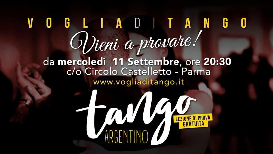 Corso Primi Passi con Prima Prova Gratuita da Voglia di Tango