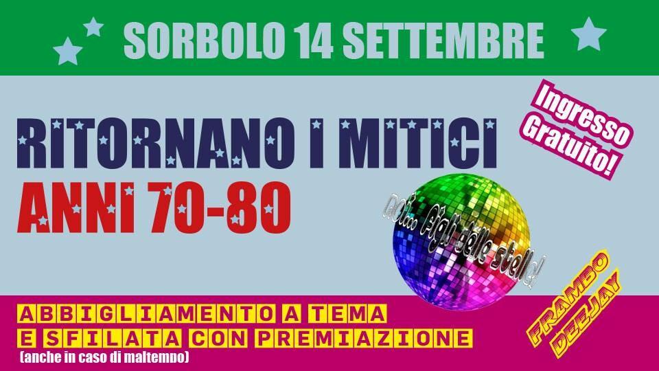 RITORNANO I MITICI ANNI 70-80, 18°EDIZIONE
