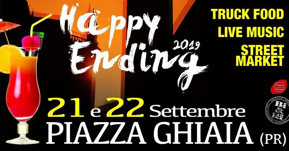 Happy Ending 2019 - Salutiamo l'estate in Piazza Ghiaia!