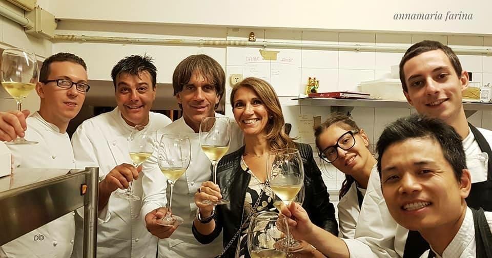 Cena a quattro mani con lo Chef D'O - Davide Oldani alla trattoria ANTICHI SAPORI