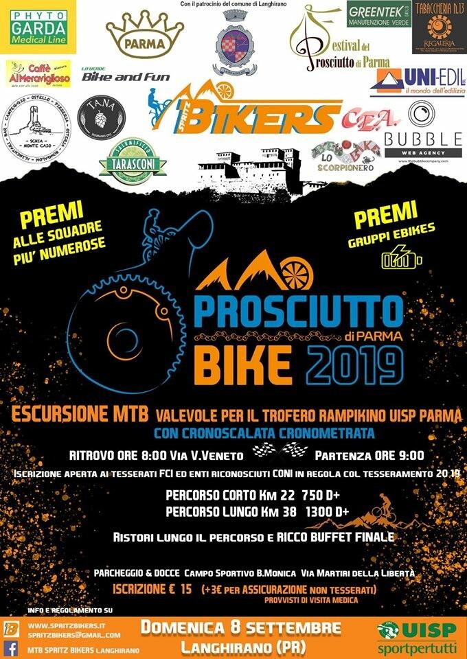 Prosciutto bike 2019