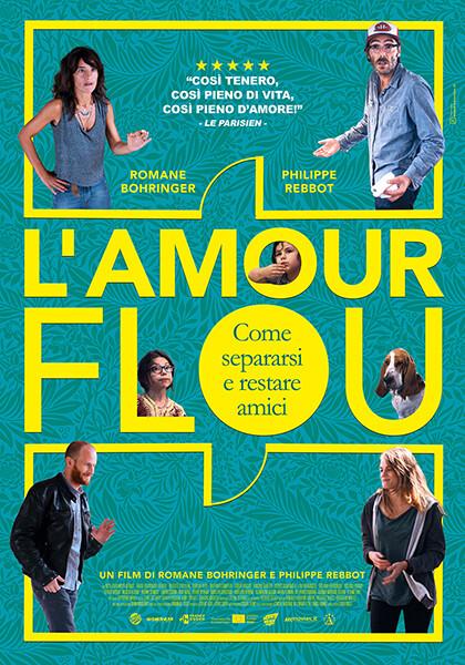 L'AMOUR FLOU-Come separarsi e restare amici  di Romane Bohrin all'arena estiva del  Cinema Astra