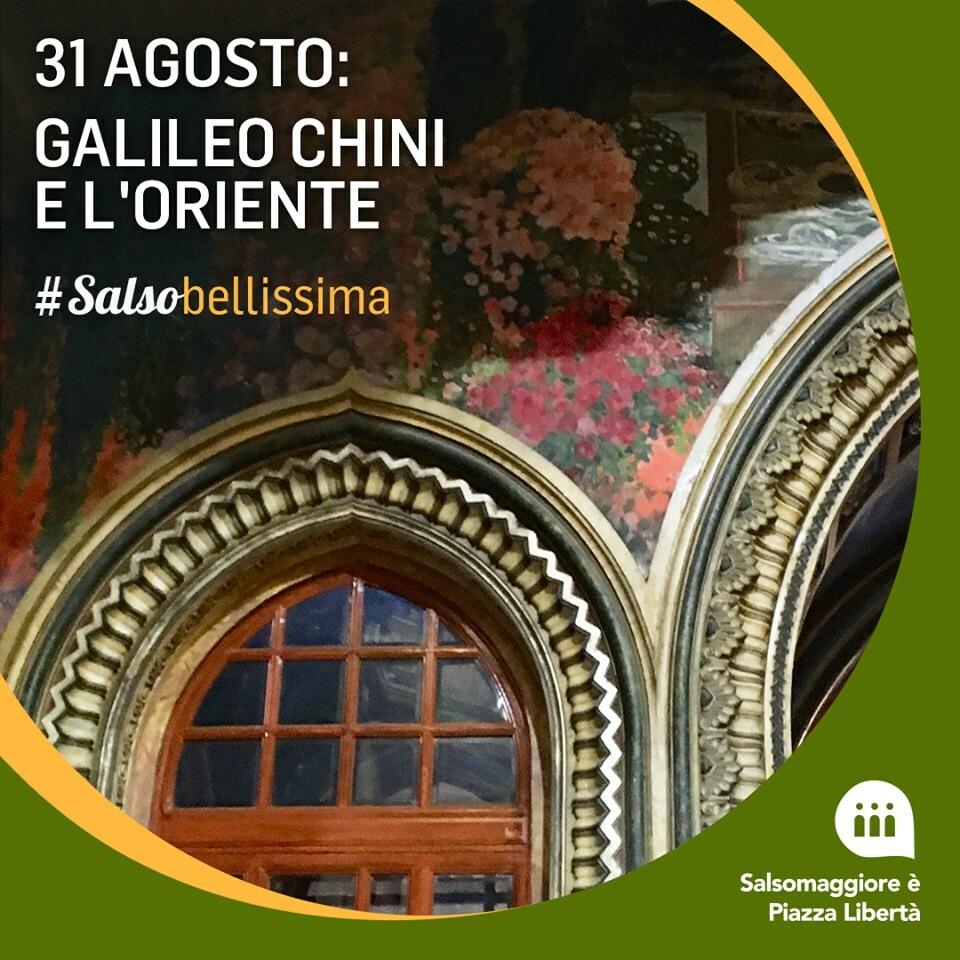 """""""Galileo Chini e l'Oriente"""", trekking urbano a Salsomaggiore"""