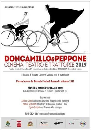 Don Camillo e Peppone – Cinema, Teatro e Trattorie 2019