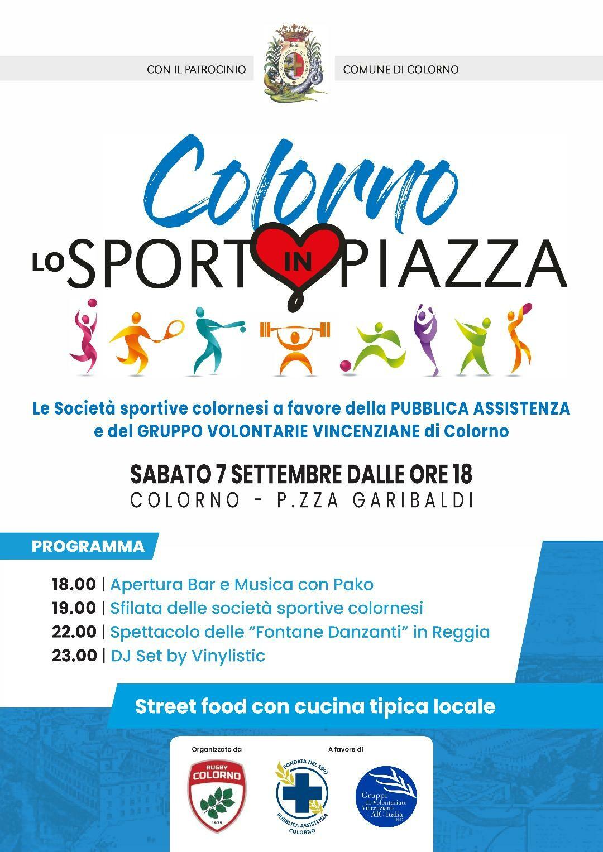 Sport in Piazza  a Colorno