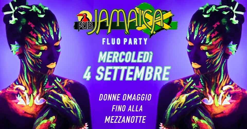 Fluo party al JAMAICA PUB PARMA