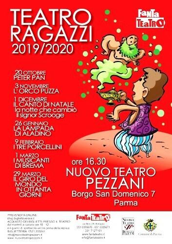 Stagione ragazzi 2019-2020 del Nuovo Teatro Pezzani