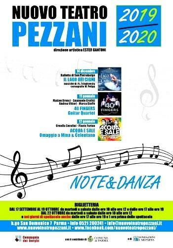 NOTE&DANZA al Nuovo Teatro Pezzani