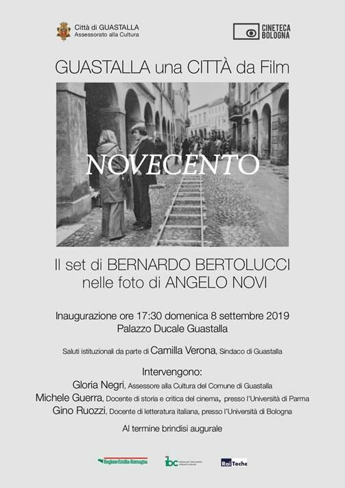 GUASTALLA una CITTÀ da Film     NOVECENTO     Il set di BERNARDO BERTOLUCCI  nelle foto di ANGELO NOVI