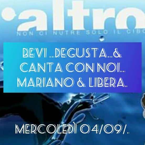 MERCOLEDÌ Altro's karaoke