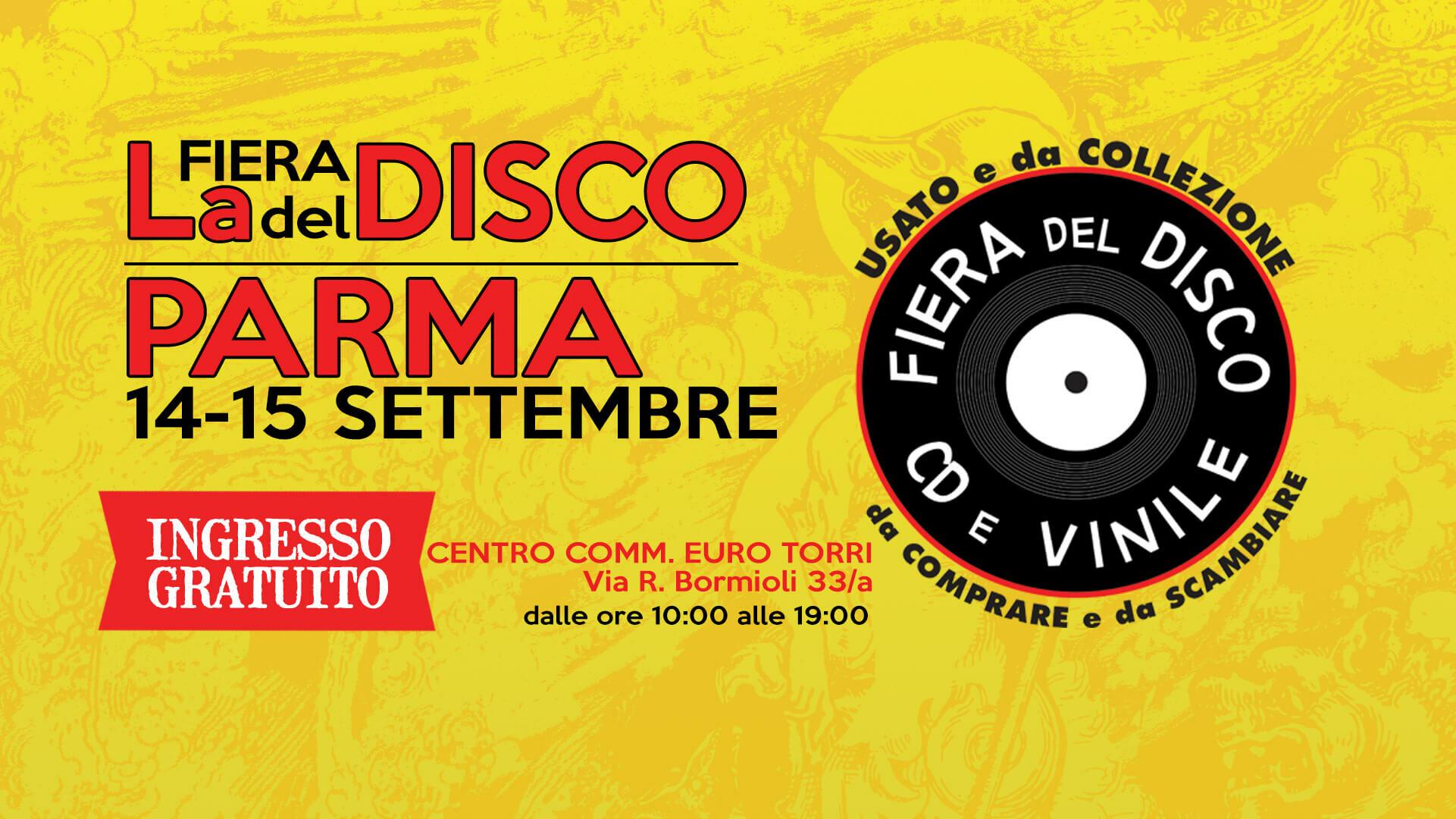Fiera del disco a Parma