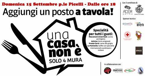 Aggiungi un posto a tavola!  Organizzato da Croce Rossa Italiana - Comitato di Parma
