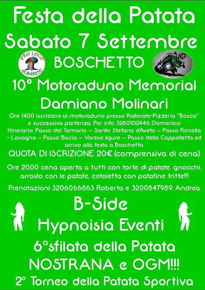 Festa della patata a Boschetto