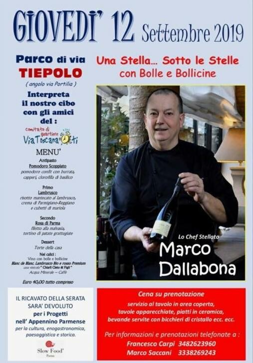 """""""Una Stella... Sotto le Stelle, con Bolle e Bollicine""""."""