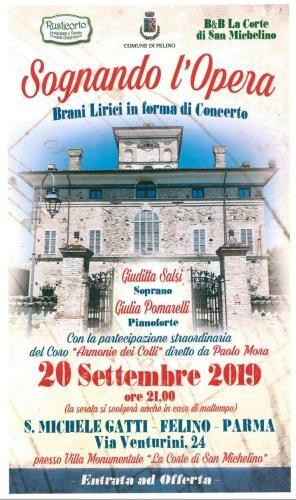 """Sognando l'Opera: brani lirici a """"La Corte di San Michelino"""""""