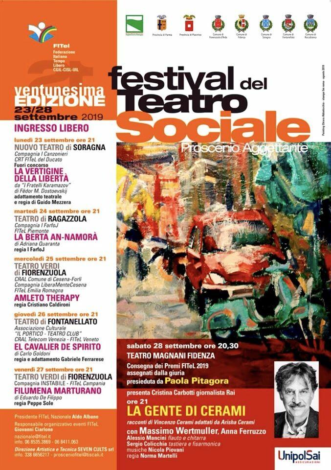 """""""Proscenio Aggettante"""", il Festival FITeL del Teatro sociale"""