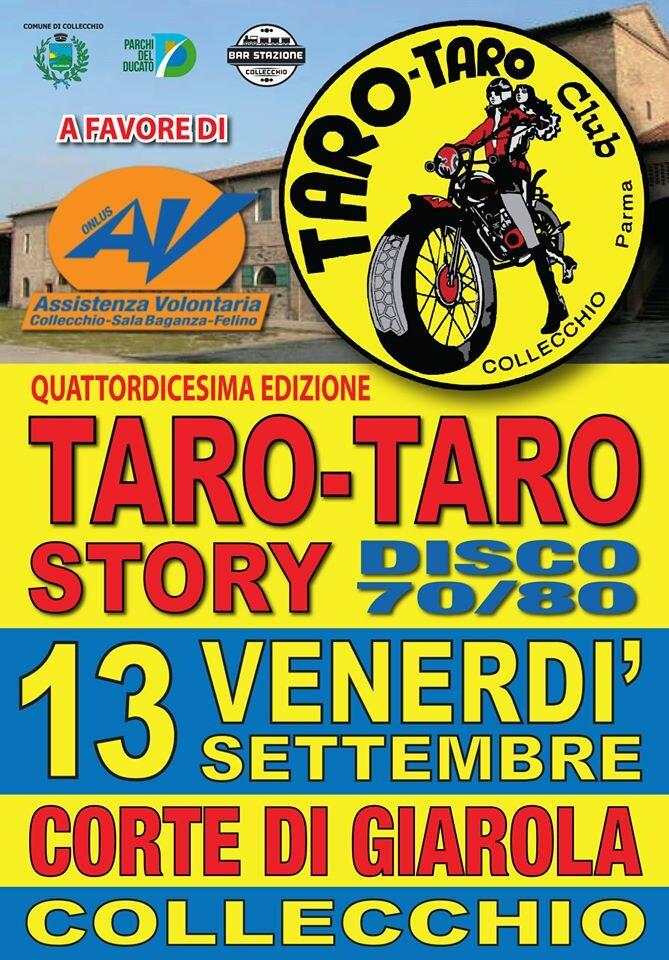 TARO-TARO STORY 70/80 (14a EDIZIONE) BALLO DIVERTIMENTO E SOLIDARIETA'